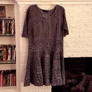 Sweater skater dress, A-Line, Size XL